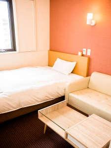 高知パレスホテル:シングルルーム♪ いろいろなお部屋タイプがあります♪ *部屋タイプはホテルおまかせです