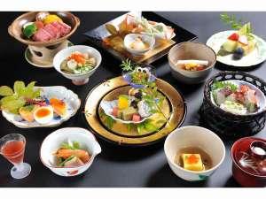 京の宿 綿善旅館:季節の会席一例