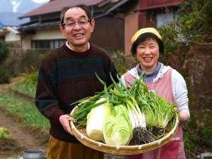 ふれあいの宿 田中荘:5室の民宿だからできる自家製野菜と自家製米のおもてなし