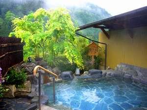下呂温泉 懐石宿 水鳳園(すいほうえん):下呂富士を望む展望露天風呂「姫の湯」