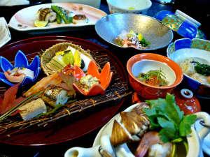 下呂温泉 懐石宿 水鳳園(すいほうえん):平成29年10月【初霜月】・・・秋の味覚を楽しめる懐石料理の品々