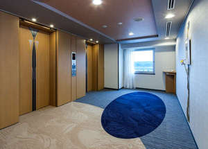 ダイワロイネットホテル和歌山:エレベーターホール