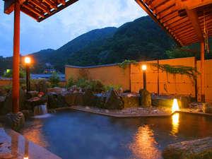 おとぎ亭 光風:昼神温泉特有のとろりとした温泉を露天風呂で満喫♪