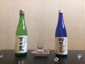 片山津温泉元湯の宿 かのや光楽苑:石川県産冷酒★大吟醸