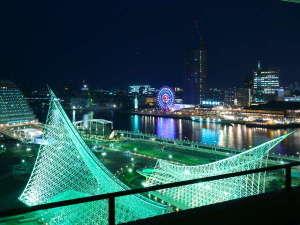 ホテルオークラ神戸:海側の夜景 ※イメージ