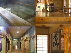 氷見の民宿 青柳:天然ひのきをふんだんに使用した心安らぐ癒しの宿です。また館内無料WiFiご利用できます。