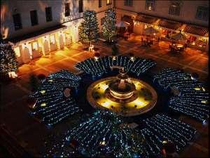 ホテルニューグランド:本館中庭