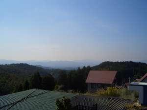 豊礼の宿:部屋によっては、雄大な山脈を望む事も、朝は雲海が広がり圧倒される景観