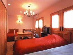 雪と蛍の舞う宿 ミストラル:4ベッドの3号室はファミリーや女性グループに