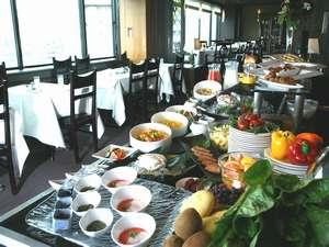 立川グランドホテル:11Fレストランオークの和・洋 朝食バイキング