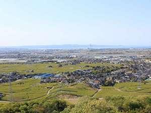 呉羽ハイツ:晴れた日は、遙か能登半島まで見渡せる展望