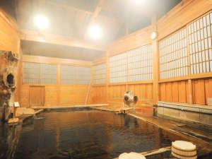 ふもと旅館:【貸切風呂/立ち湯】水深150センチ!入り口からだんだんと深くなるユーモア感満載の一番人気の湯処です