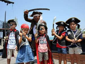 ルネッサンスリゾートオキナワ:トレジャーハンティング:シャーク船長と戦おう!