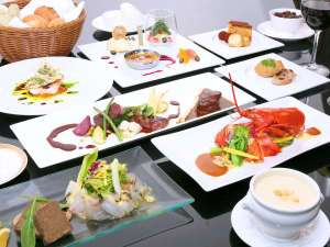 ホテルアンビエント伊豆高原:【贅沢なフレンチ】相模湾の新鮮魚貝などワングレード上の素材使用(イメージ)