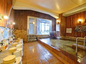 ペットとお泊りできる宿 ふくせんか:*【大浴場】つるつるしっとりのお湯が自慢です
