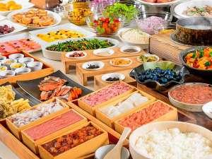 ホテルマイステイズプレミア札幌パーク(旧アートホテルズ札幌):◆3種類から選べる朝食◆ 60種類以上の和洋バイキング(イメージ)