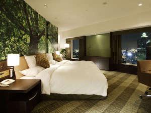 リーガロイヤルホテル:【ナチュラルコンフォート】森のフロア 22F 森 スイート 56㎡ ジャグジーバス付