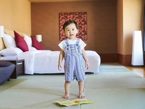 リーガロイヤルホテル:赤ちゃんと一緒に寛げる、56㎡畳スイート