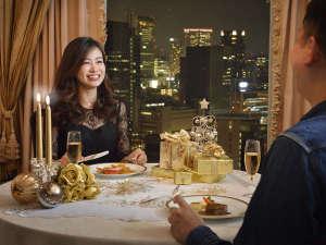 リーガロイヤルホテル:『プライベート・クリスマス』宿泊プラン。プライベートな空間で本格フレンチディナーを。※写真はイメージ