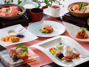 西海橋コラソンホテル:■夕食■和洋会席「旬」旬の食材と和・洋のアレンジでお楽しみ下さい/イメージ
