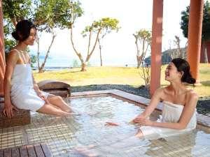 西海橋コラソンホテル:露天風呂/朝陽を浴びながら