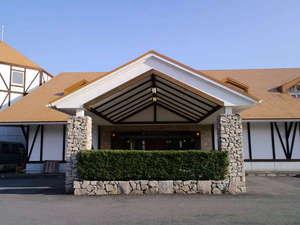 湯原温泉 森のホテル ロシュフォール【ホテル入口正面玄関】