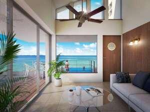 Keiki Beach House and Cafe:2018年オープンオリエンタルルーム(専用プール付)客室