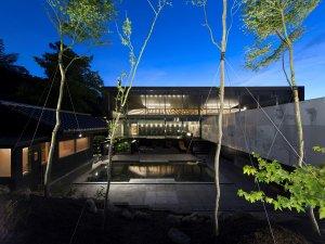 ◆大浴場 山頭火(露天風呂)◆2018年7月リニューアル!露天、内湯、サウナ、水風呂完備です。
