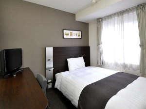コンフォートホテル広島大手町:◆ダブルエコノミー◆リニューアルで、デュベスタイルの寝具に♪◆ベッド幅140cm◆