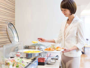 コンフォートホテル広島大手町:お好きなものをお好きなだけお召し上がりください♪
