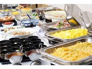 ホテルイン鶴岡:朝食バイキング 勢揃い