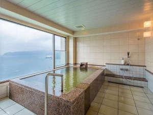 熱海温泉 ホテルニューアカオ ロイヤルウイング:【貸切風呂】ゆったりと寛げる絶景風呂(45分/4,200円)