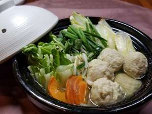 アパホテル<新宿御苑前>:【冬限定】鶏団子と野菜のちゃんこ鍋