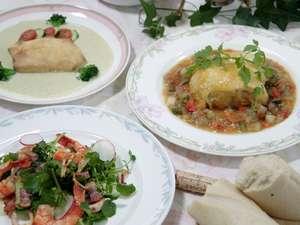 ララビー軽井沢:夕食は洋風コースディナー