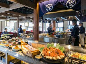 湯元こんぴら温泉華の湯紅梅亭:【朝食】和洋約60種類のブッフェ!(一例)