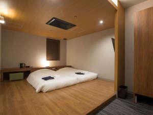 【客室】ツインルーム一例※鍵付きの通常客室です。