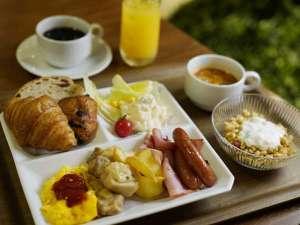 【朝食バイキング】盛り付け一例☆