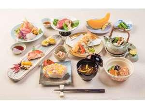 小谷流の郷 サンクチュアリーフォレスト:【ご夕食】季節の和懐石コースの例