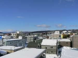 部屋からの眺望☆裏側☆北見市の中心部に位置しています。
