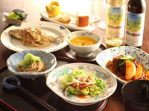 乗鞍高原温泉 ポエティカル:洋食コースの1例