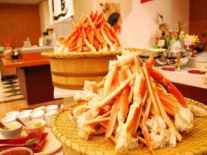 山中湖富士松温泉 富士松園ホテル:*蟹も盛り沢山!ぜひお召し上がり下さい(一例)