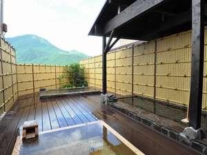 温泉旅館 やまなみ :温泉に浸かりながら由布岳を眺める贅沢な時間♪