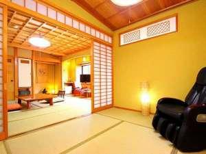 湯煙ただよう和の宿 しんきや旅館:【客室例】すべての部屋が異なるタイプ全7室天然木で設えたゆったりとした客室