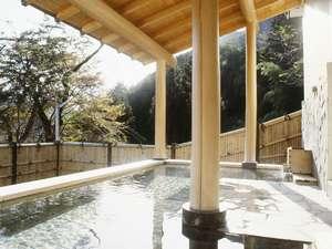 旅館 みやま:自家源泉の湯量豊富な露天風呂