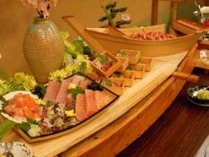 下田海浜ホテル:夕食バイキングに1例 写真はイメージとなります