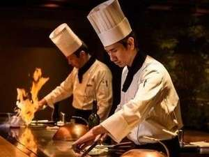 九十九島ベイサイドホテル&リゾートフラッグス:竹彩 鉄板焼