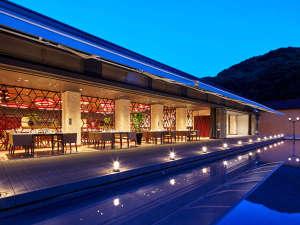 九十九島ベイサイドホテル&リゾートフラッグス:<外観>地中海料理『THE ONE』/テラス