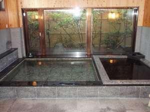 料理旅館かねもと:男性用風呂です、人数により女性用と反対になることもあります。