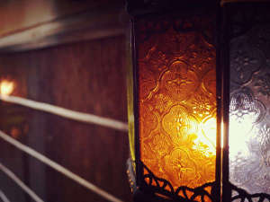 太鼓屋 別邸:ライト