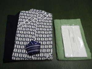 北軽井沢高原ホテル:備え付け備品半纏・浴衣・バスタオルタオル・歯ブラシタオルはお持ち帰り出来ます